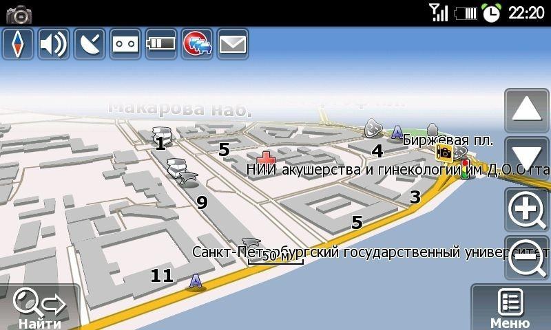 Карты Навител – детализированная карта Петербурга